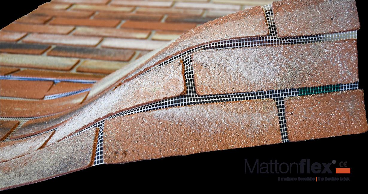 Mattoni Bianchi Per Esterni mattonflex - mattoni finti - matton flex - mattone finto
